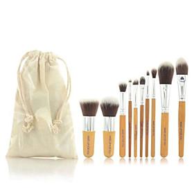 Pro Makeup Cosmetic Blush Brush Eyebrow Foundation Powder Kabuki Brushes Kit Set(11PCS) 4252682