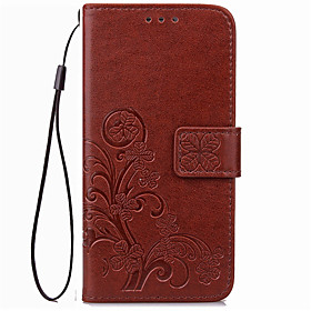 Case For Sony / Sony Xperia X / Sony Xperia XA Wallet / Card Holder Full Body Cases Solid Colored Soft PU Leather for Sony Xperia XA / Sony Xperia X Performanc
