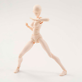 6 Style Body Chan Body Kun Pale Women 1Pcs Skin colour 15cm Figma Bandai PVC Action Figure Figma 5563566