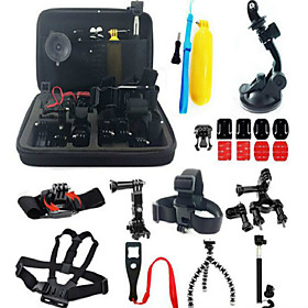 Accessory Kit Of Protective Case Monopod Tripod Case/Bags Screw Buoy Suction Cup Adhesive Mounts Straps Clip Hand Grips/Finger 3894785