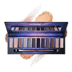 1Pcs  12 Color Nude Pro Eye Shadow Palette Perfect Golden Sleek Smoky Eyeshadow Shimmer Matte Naked Palette Makeup Set 5538437