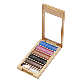5 Colors Diamond High Quality Pigment Makeup Eyeshadow Pallette To Eye Kit Maquiagem Eye Shadow Beauty Naked Pallette 5566167