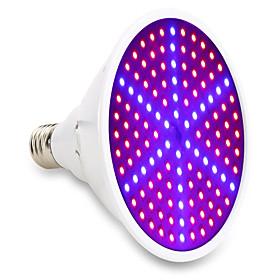 1pc 15 W 1000 lm E26 / E27 Growing Light Bulb 126 LED Beads SMD 5730 Decorative Red / Blue 85-265 V / 1 pc / RoHS / FCC
