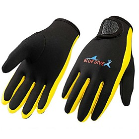 Diving Gloves Full-finger Gloves Winter Gloves Sports Gloves Cycling/Bike Hunting Fishing Leisure Sports Diving ShootingKeep Warm 5551054