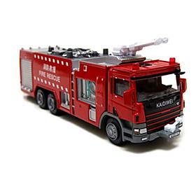 KDW Truck Fire Engine Vehicle Dozer Toy Truck Construction Vehicle Toy Car 1:10 Novelty Kid's Boys' Girls' Toy Gift