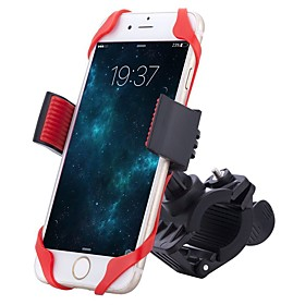 HiUmi Bike Phone Mount Adjustable Portable Non-Skid 360°Rolling / Rotatable Durable For Road Bike Mountain Bike MTB BMX TT Folding Bike Cycling Bicycle Rubber