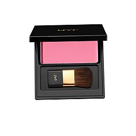 UMF Natural Soft Pressed Powder Natural Face Blush Powder Blusher Palette Shimmer Makeup with Brush 3D Pure Mineral 5558225