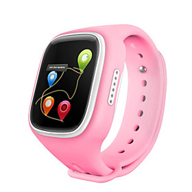 IPS WiFI GPS Location Smart Watch Children Wristwatch SOS Call Finder Locator Tracker Anti Lost Monitor Smartwatch Kids Changable  Color Belt 5628760