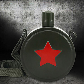 Novelty Sports Drinkware, 550 ml Portable Leak-proof Stainless Steel Tea Juice Water Bottle 5601038