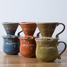 ml  Ceramic Coffee Maker Set , 4 cups Drip Coffee Maker Reusable 5620146