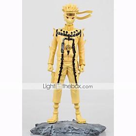 Anime Action Figures Inspired by Naruto Naruto Uzumaki PVC 25.5 CM Model Toys Doll Toy 1pc 5628667