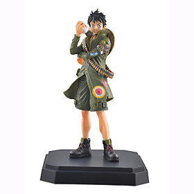 Anime Action Figures Inspired by One Piece Monkey D. Luffy PVC 16 CM Model Toys Doll Toy 1pc 5628655