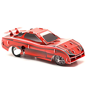 Toy Car Building Blocks 3D Puzzle Car Race Car Creative DIY 1 pcs Race Car Kid's Adults' Boys' Girls' Toy Gift / Educational Toy