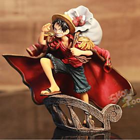 Figure Anime Azione Ispirato da One Piece Monkey D. Luffy PVC 15 CM Giocattoli di modello Bambola giocattolo 5628579
