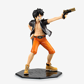 Anime Action Figures Inspired by One Piece Monkey D. Luffy PVC 22 CM Model Toys Doll Toy 1pc 5628671