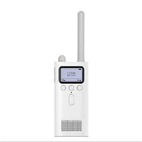 Xiaomi Walkie Talkie LCD Display / FM Radio 5KM-10KM 5KM-10KM 2 Walkie Talkie Two Way Radio