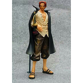 Anime Action Figures Inspired by One Piece Akakami no shankusu PVC 16 CM Model Toys Doll Toy 1pc 5628659