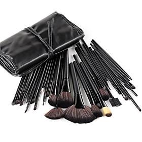 32 Stk. schwarze Profi Make-up Pinsel im Set 1403864