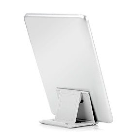 tablet stand Plastic Desk Table tablet holder Adjustable Flexible Portable Folding Universal Black Blue Green Pink White