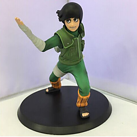 Anime Action Figures Inspired by Hokage Rock Lee PVC 14 CM Model Toys Doll Toy 1pc 5628581