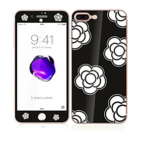 Screen Protector Apple for iPhone 7 Plus Tempered Glass 1 pc Front  Back Protector Pattern 5599210
