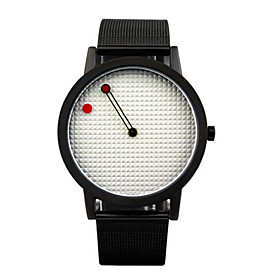 Men's Fashion Watch Quartz / Leather Band Casual Black Brown Brand 5599240
