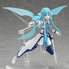 Anime Action Figures Inspired by Sword Art Online Cosplay PVC 15 CM Model Toys Doll Toy 1pc 5628657