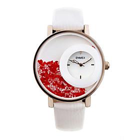 Men's Fashion Watch Quartz / Leather Band Casual Black Brown Brand 5599242