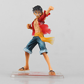Anime Action Figures Inspired by One Piece Monkey D. Luffy PVC 13 CM Model Toys Doll Toy 1pc 5628664