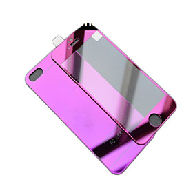 Mirror color plating anti explosion glass protection film (front and back) for iPhone 6S/6 4305123