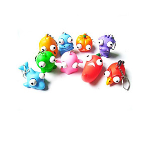 Decompression Doll Stress Relievers Novelty  Gag Toys Key Chain Toys PVC 5617916