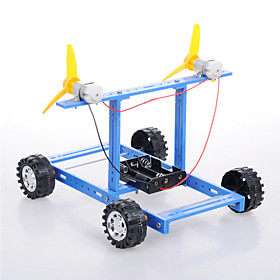 Crab Kingdom  Model Assembled DIY Technology Handmade DIY Blue Wind Car Number 18