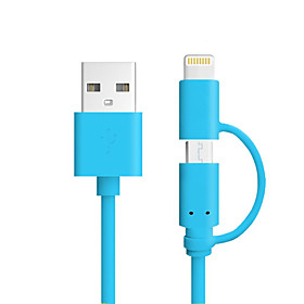 All-In-1 Belysning USB-kabeladapter Opladerkabel Opladerledning Data  Synkronisering Kabel Normal Alt-i-En Kabler Kabel Til iPad Apple 4891560