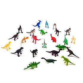 Action Figures  Stuffed Animals Display Model Model  Building Toy Dinosaur Plastic Rainbow 5582125