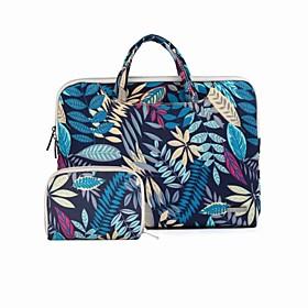 Forest Color Leave Handbag Laptop Bag for New Macbook Pro Touch Bar 13.3/15.4 Macbook Air 11.6/13.3 Macbook Pro 12.1/13.3/15.4 5595830
