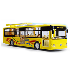 Pull Back Vehicles Toy Cars Pre-Built  Diecast Models Bus Bus Metal Alloy Metal Kids' Children's Boys' Gift Action  Toy Figures Action 5720666