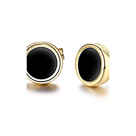 Women's Stud Earrings 18K Gold Plated Earrings Personalized Classic Fashion Euramerican Jewelry As Picture For Christmas Gifts Party Special Occasion Anniversa