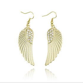 Women's Drop Earrings - Wings, Flower Vintage, Bohemian, Boho Gold / Silver For Party Daily Casual