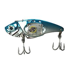 "1 pcs Hard Bait Metal Bait Fishing Lures Hard Bait Metal Bait Trolling Lure phantom g/Ounce,80 mm/3-1/4"""" inch,MetalBait Casting Lure"" 5687813"