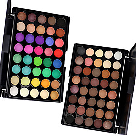 80 Colors Professional Eye Shadow Eyeshadow Palette Dry MatteGlitter SmokyColorful Eyeshadow Powder Daily Party Makeup Cosmetic Palette Set 5659696