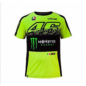 MotoGP T-shirt riding suits motorcycle VR46 Knight Locy cotton short-sleeved racing suit T-shirt 5707694