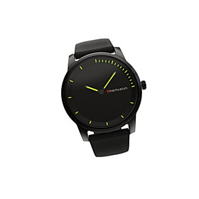 Men's Smart Watch Fashion Watch Chinese Quartz Leather Band Casual Black Brown 5742520