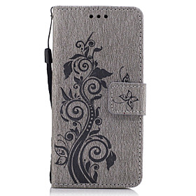 Case For Sony Xperia Z5 / Sony Xperia Z3 / Sony Wallet / Card Holder / with Stand Full Body Cases Flower Hard PU Leather for Sony Xperia Z3 / Sony Xperia Z5 /