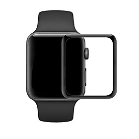 42MM 38mm 3D Tempered Glass Screen Protector Curved Toughened Membrane for Apple Watch 3 Series 1 2 5773489