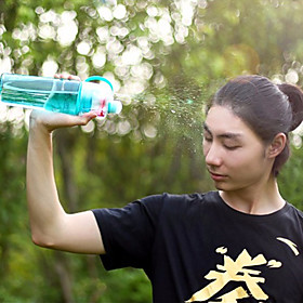 1Pcs  Sports Spray Water Bottle Dual-Use Bpa Free Plastic Bottles For Water Fashion Space Cups 5777189