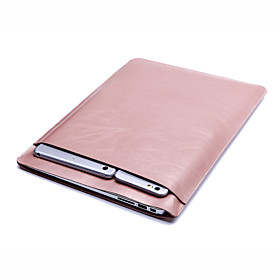 Sleeves Solid Colored PU Leather for New MacBook Pro 13-inch / MacBook Air 13-inch / Macbook Air 11-inch