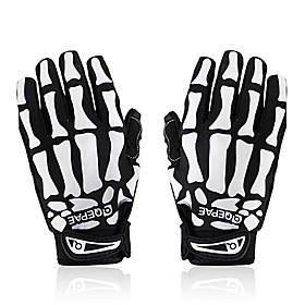 QEPAE Sports Gloves Bike Gloves / Cycling Gloves Lightweight / Keep Warm / Quick Dry Full finger Gloves Polyester / Nylon / PU(Polyurethane) Cycling / Bike / M 2752912