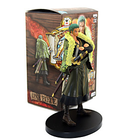 Anime Action Figures Inspired by One Piece Roronoa Zoro PVC 17 CM Model Toys Doll Toy 5789574