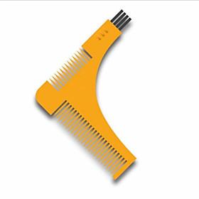 1Pcs Beard Bro Hair Trimmers Hair Care Styling Man Gentleman Beard Trim Template Hair Cut Molding Hair Clipper Beard Modelling Tools Color Random 5767474