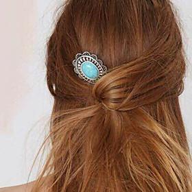 Women's Party Jewelry / Vintage / Elegant Gem / Alloy Hair Clip / Hairpins / Hairpins